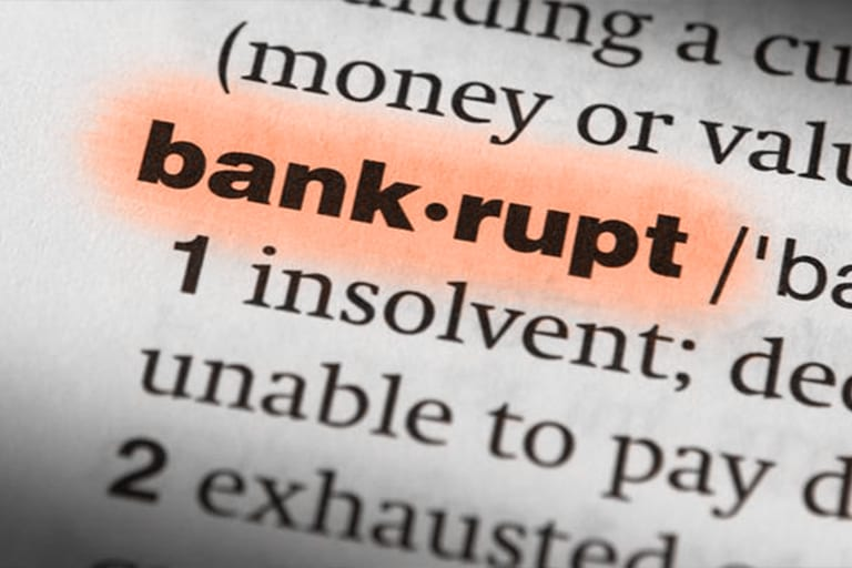 Tax debt and bankruptcy…